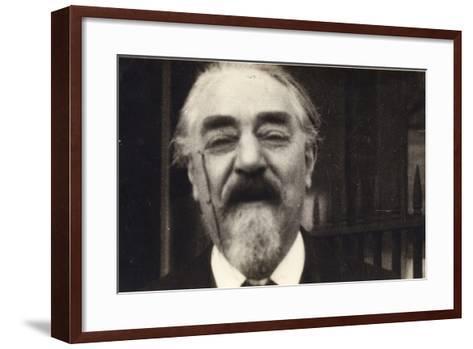 Sidney Webb--Framed Art Print