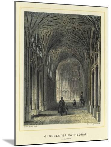 Gloucester Cathedral, the Cloisters-Benjamin Baud-Mounted Giclee Print