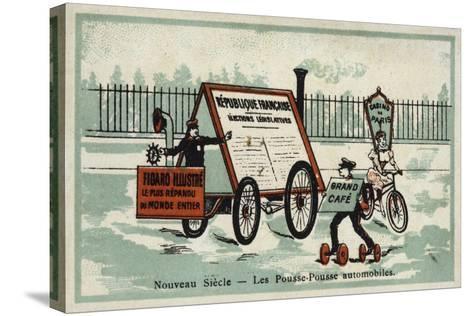 New Century - Auto Rickshaws--Stretched Canvas Print