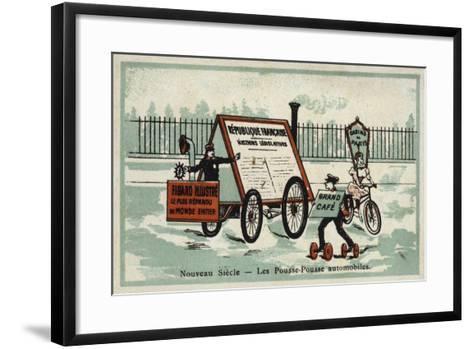 New Century - Auto Rickshaws--Framed Art Print