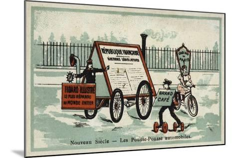 New Century - Auto Rickshaws--Mounted Giclee Print