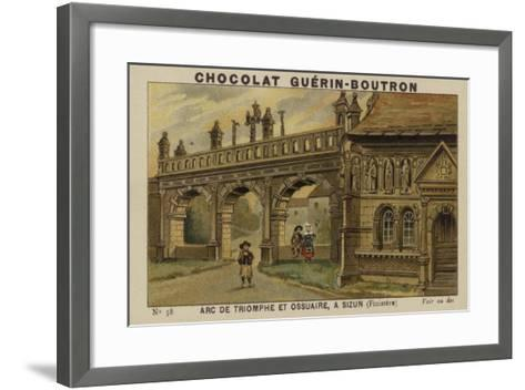Arc De Triomphe Et Ossuaire, a Sizun, Finistere--Framed Art Print