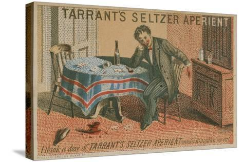 Tarrant's Seltzer Aperient, Trade Card--Stretched Canvas Print