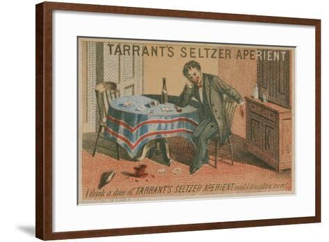 Tarrant's Seltzer Aperient, Trade Card--Framed Art Print