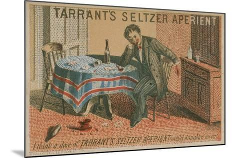 Tarrant's Seltzer Aperient, Trade Card--Mounted Giclee Print