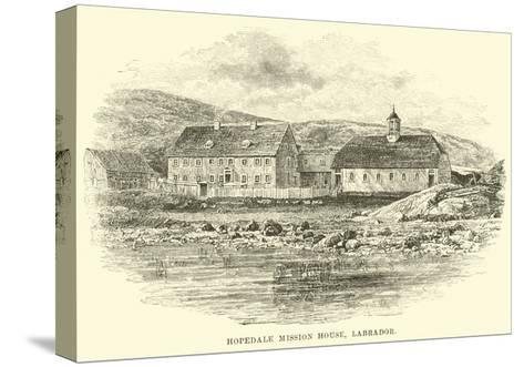 Hopedale Mission House, Labrador--Stretched Canvas Print