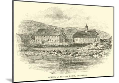 Hopedale Mission House, Labrador--Mounted Giclee Print