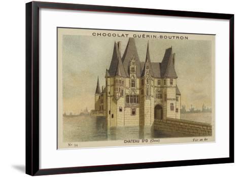 Chateau D'O, Orne--Framed Art Print