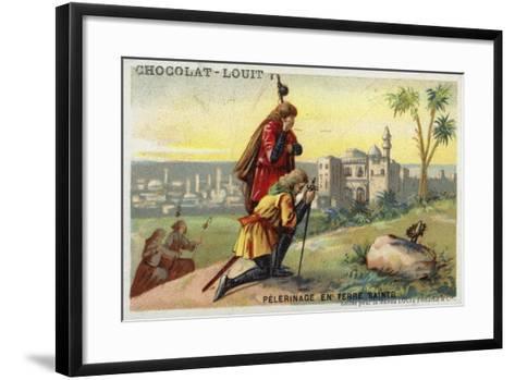 Pilgrimage to the Holy Land--Framed Art Print