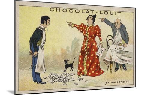 La Maladresse--Mounted Giclee Print