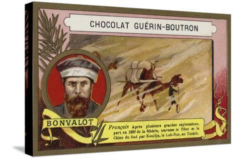 Gabriel Bonvalot, French Explorer--Stretched Canvas Print