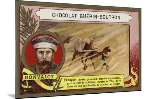 Gabriel Bonvalot, French Explorer--Mounted Giclee Print
