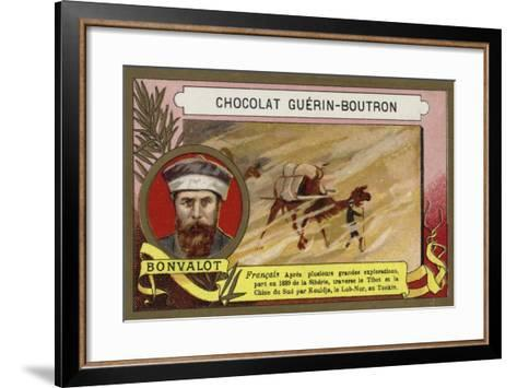 Gabriel Bonvalot, French Explorer--Framed Art Print
