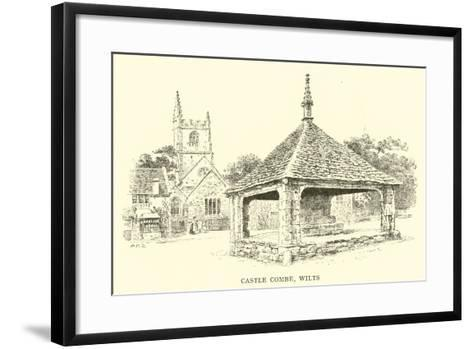 Castle Combe, Wilts-Alfred Robert Quinton-Framed Art Print