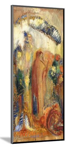 The Sermon-Odilon Redon-Mounted Giclee Print