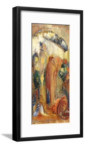 The Sermon-Odilon Redon-Framed Art Print