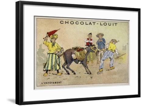 L'Entetement--Framed Art Print