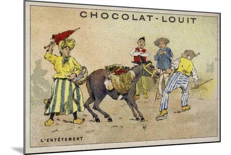 L'Entetement--Mounted Giclee Print
