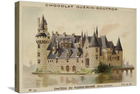 Chateau Du Plessis-Bourre, Maine-Et-Loire--Stretched Canvas Print