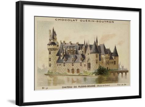 Chateau Du Plessis-Bourre, Maine-Et-Loire--Framed Art Print