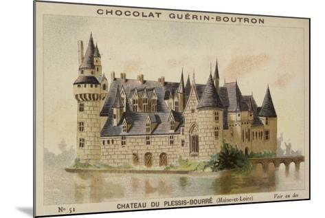Chateau Du Plessis-Bourre, Maine-Et-Loire--Mounted Giclee Print