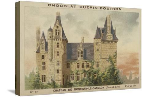 Chateau De Montigny-Le-Ganelon, Eure-Et-Loir--Stretched Canvas Print