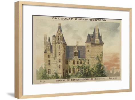 Chateau De Montigny-Le-Ganelon, Eure-Et-Loir--Framed Art Print