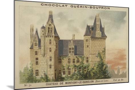 Chateau De Montigny-Le-Ganelon, Eure-Et-Loir--Mounted Giclee Print