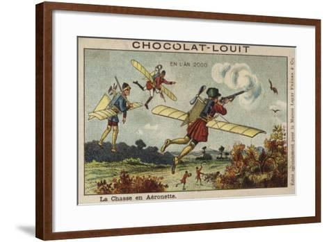 Airborne Hunting in the Year 2000--Framed Art Print