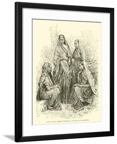 Native Women--Framed Art Print