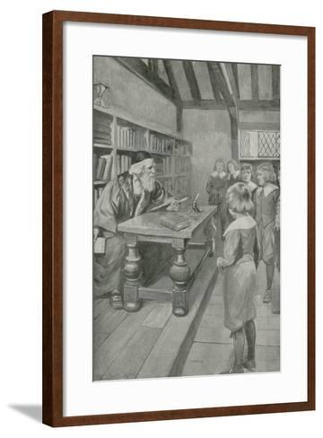 The Boy Who Was to Be Immortal-Charles Mills Sheldon-Framed Art Print