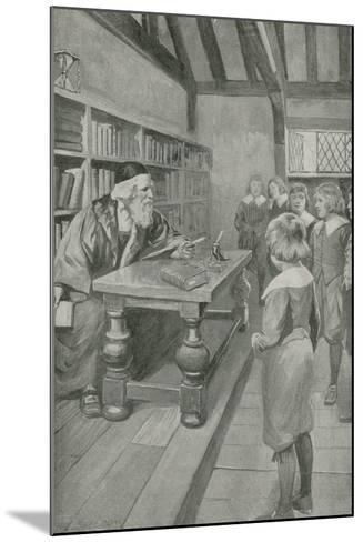 The Boy Who Was to Be Immortal-Charles Mills Sheldon-Mounted Giclee Print