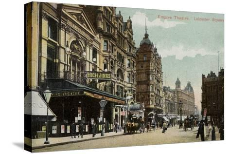 Empire Theatre, Leicester Square--Stretched Canvas Print