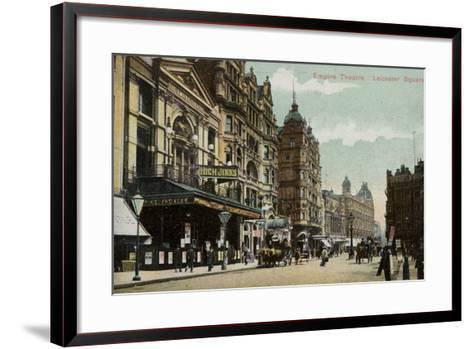 Empire Theatre, Leicester Square--Framed Art Print