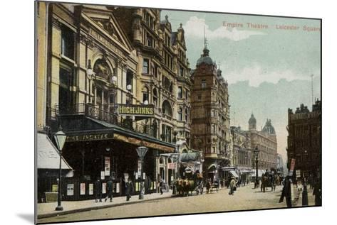 Empire Theatre, Leicester Square--Mounted Photographic Print
