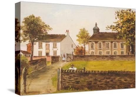 Ashworth Church, Rochdale, Lancashire, 1891-E. Beaumont-Stretched Canvas Print