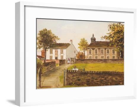 Ashworth Church, Rochdale, Lancashire, 1891-E. Beaumont-Framed Art Print