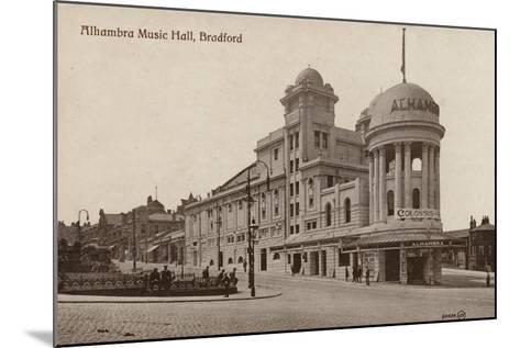 Alhambra Music Hall, Bradford--Mounted Photographic Print