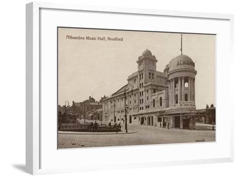 Alhambra Music Hall, Bradford--Framed Art Print