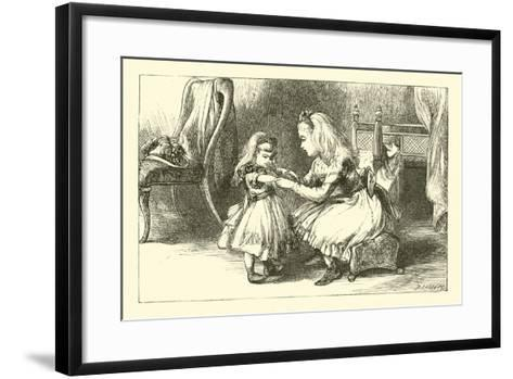 Dolly and Her Mamma--Framed Art Print