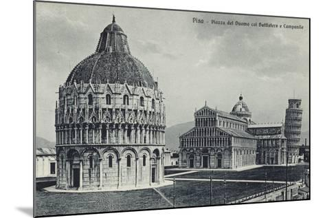 Postcard of Pisa--Mounted Photographic Print