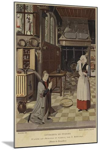 Kitchen Interior-Jan Mostaert-Mounted Giclee Print