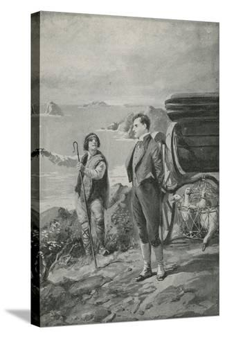 Lord Byron Goes Out for a Ride--Stretched Canvas Print