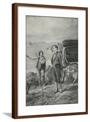 Lord Byron Goes Out for a Ride--Framed Art Print