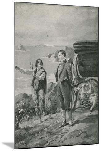 Lord Byron Goes Out for a Ride--Mounted Giclee Print