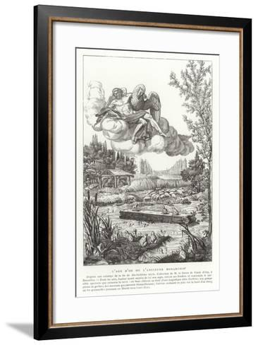 The Age of Gold, or the Old Monarchy--Framed Art Print