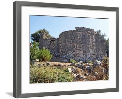 Bath House, Patara, Turkey--Framed Art Print