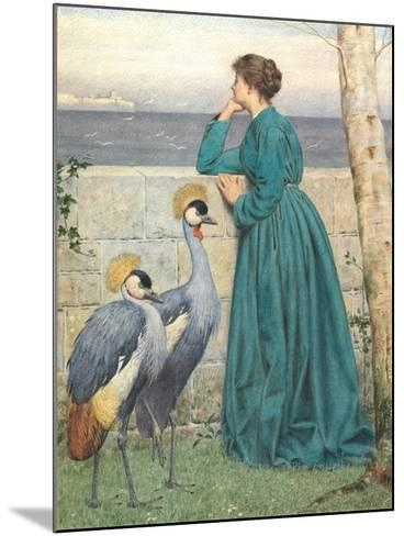 Waiting and Watching-Henry Stacey Marks-Mounted Giclee Print