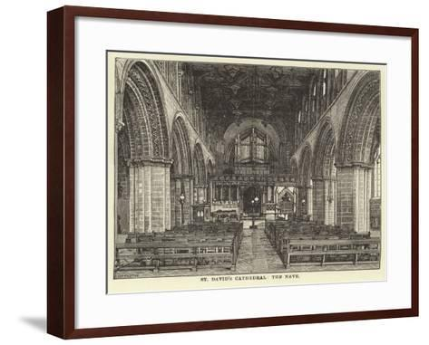 St David's Cathedral, the Nave--Framed Art Print