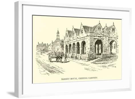 Market House, Chipping Campden-Alfred Robert Quinton-Framed Art Print